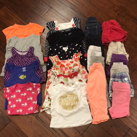 d1f7d6d085e 12-18 Month Girl s Wardrobe!! (Spring Summer). M 5bc576538ad2f9a96038abb2.  Other Shirts   Tops ...